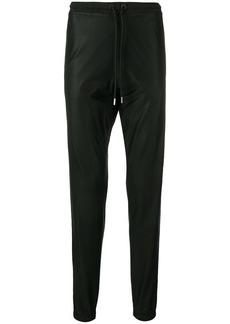 Marcelo Burlon coated stripe track pants