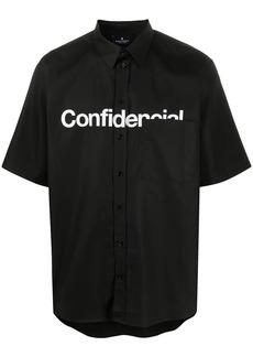 Marcelo Burlon Confidential-print short sleeved shirt