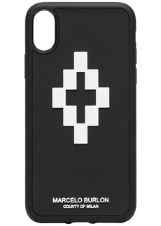Marcelo Burlon Cross 3D iPhone X case