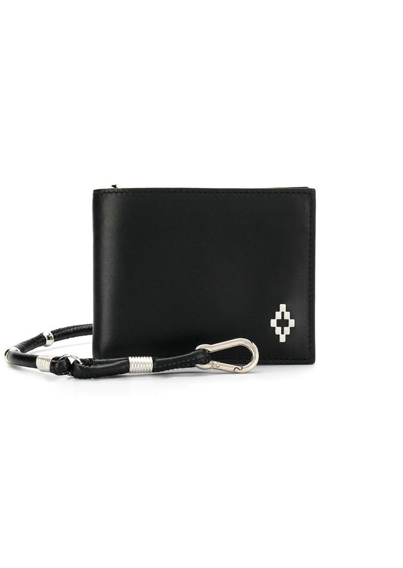 Marcelo Burlon cross logo bi-fold wallet