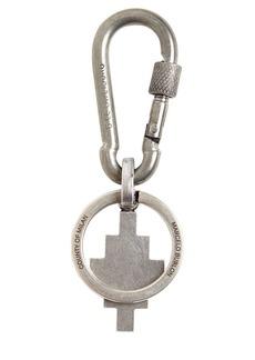 Marcelo Burlon Cross Logo Snap Hoop Key Holder