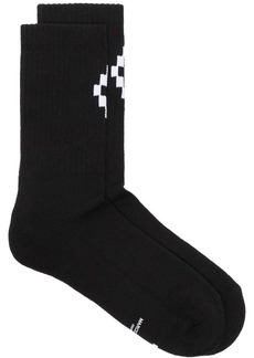 Marcelo Burlon cross logo socks