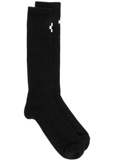 Marcelo Burlon cross long socks