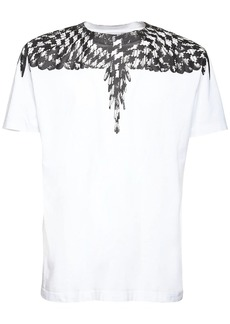 Marcelo Burlon Cross Pdp Wings Print Cotton T-shirt