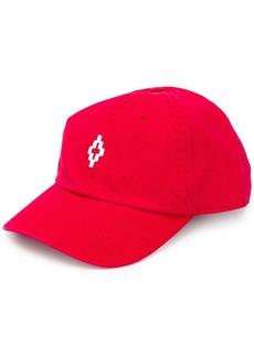 Marcelo Burlon embroidered logo baseball cap