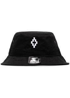 Marcelo Burlon embroidered logo bucket hat