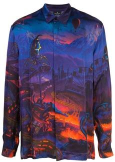 Marcelo Burlon Fantasy all-over print shirt