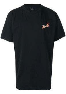 Marcelo Burlon Flaming Basketball print T-shirt