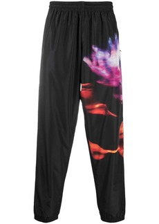 Marcelo Burlon flower print track pants