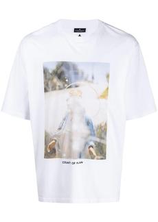 Marcelo Burlon Holy photograph print T-shirt