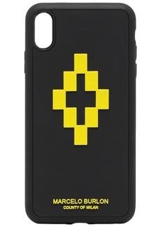 Marcelo Burlon 3D cross iPhone XS Max CSS case