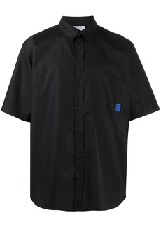 Marcelo Burlon logo-print short-sleeve shirt