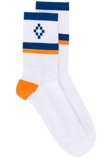 Marcelo Burlon logo socks
