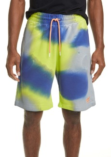 Marcelo Burlon County 3000 Tie Dye Sweat Shorts
