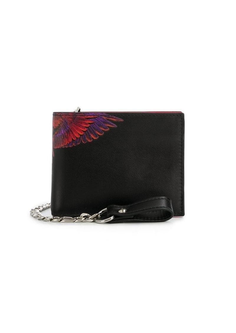 Marcelo Burlon Wings print billfold wallet