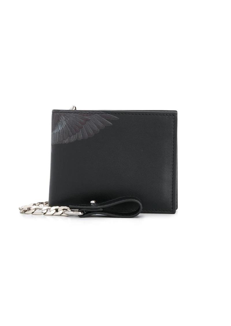 Marcelo Burlon wings-print bi-fold wallet