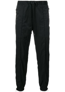 Marcelo Burlon side zipped track pants