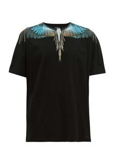 Marcelo Burlon Eagle wings-print cotton T-shirt