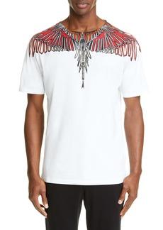 Marcelo Burlon Geometric Wings T-Shirt