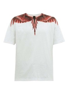 Marcelo Burlon Ghost Wings-print cotton T-shirt