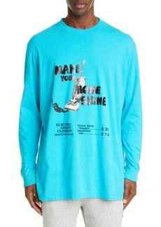 Marcelo Burlon Ghostcleaner Long Sleeve T-Shirt