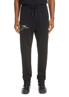 Marcelo Burlon Logo Patch Sweatpants
