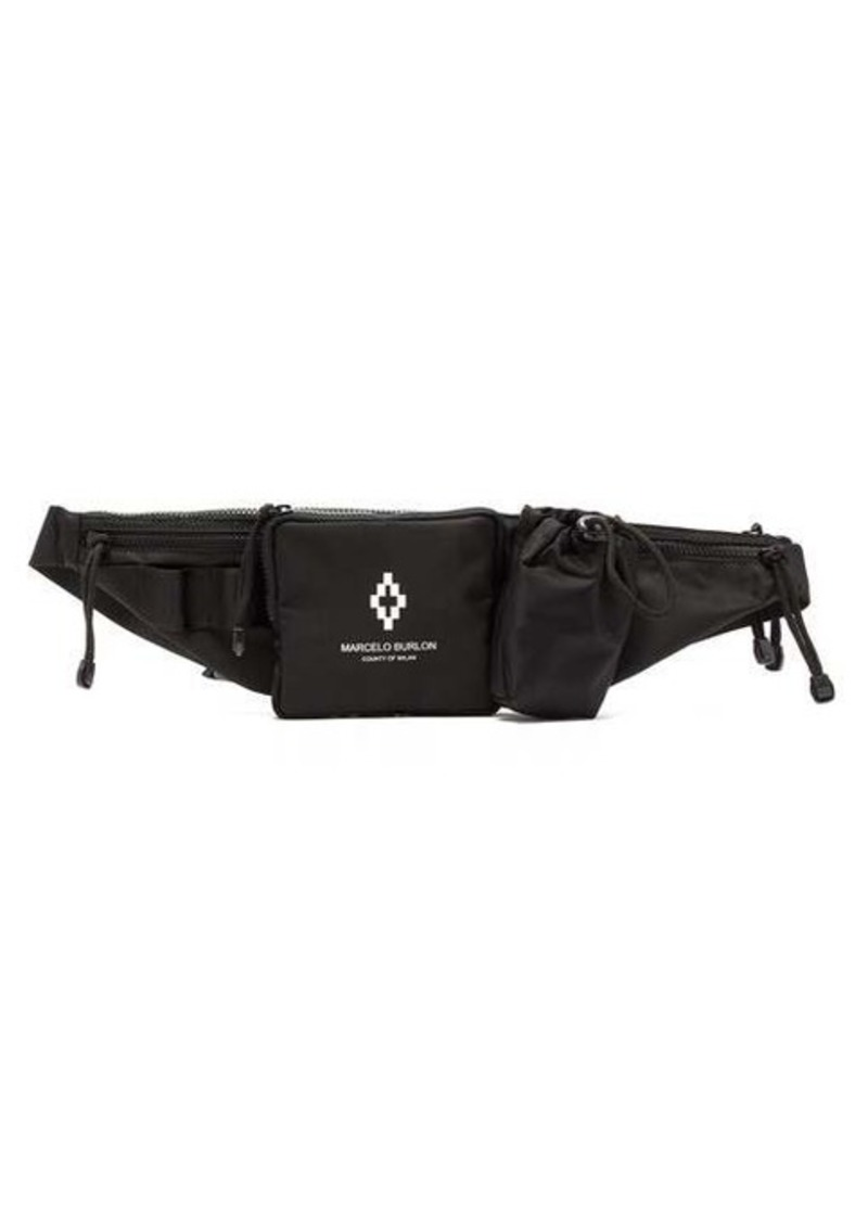 Marcelo Burlon Logo-print belt bag