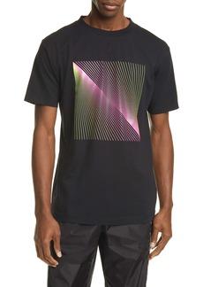Marcelo Burlon Optical Graphic T-Shirt