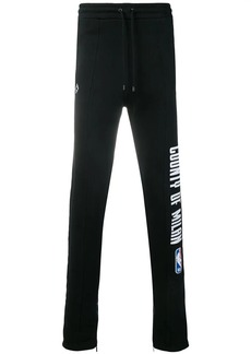 Marcelo Burlon NBA track pants
