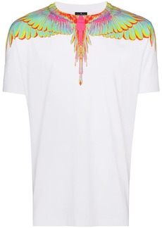 Marcelo Burlon Neon wings printed T-shirt
