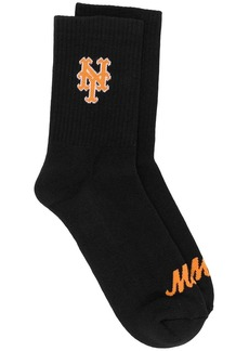 Marcelo Burlon NY Mets short socks