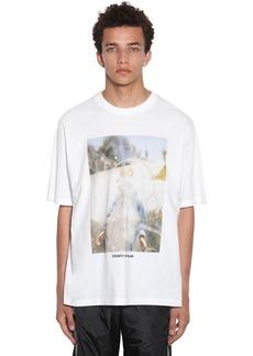Marcelo Burlon Oversize Printed Cotton Jersey T-shirt