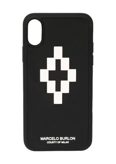 Marcelo Burlon Printed 3d Logo Cross Iphone X/xs Case
