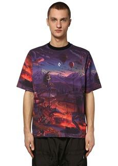 Marcelo Burlon Printed Fantasy Over Jersey T-shirt