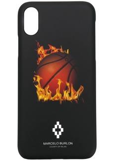 Marcelo Burlon printed iPhone X case