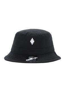 Marcelo Burlon Starter Cross Logo Canvas Bucket Hat