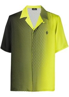 Marcelo Burlon striped concealed fastening shirt