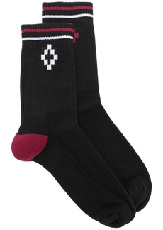 Marcelo Burlon Striped socks