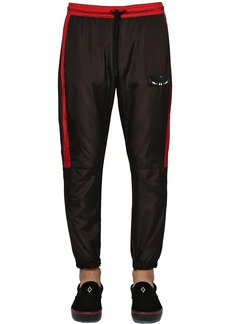 Marcelo Burlon Tech Jogging Pants W/ Wings Patch