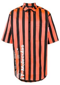 Marcelo Burlon Warning striped shirt
