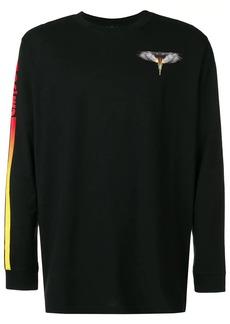 Marcelo Burlon Wings Barcode long sleeve top