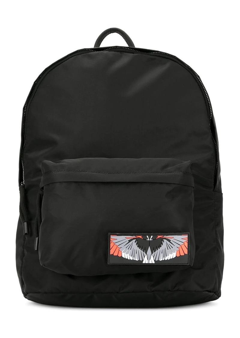 Marcelo Burlon wings patch backpack