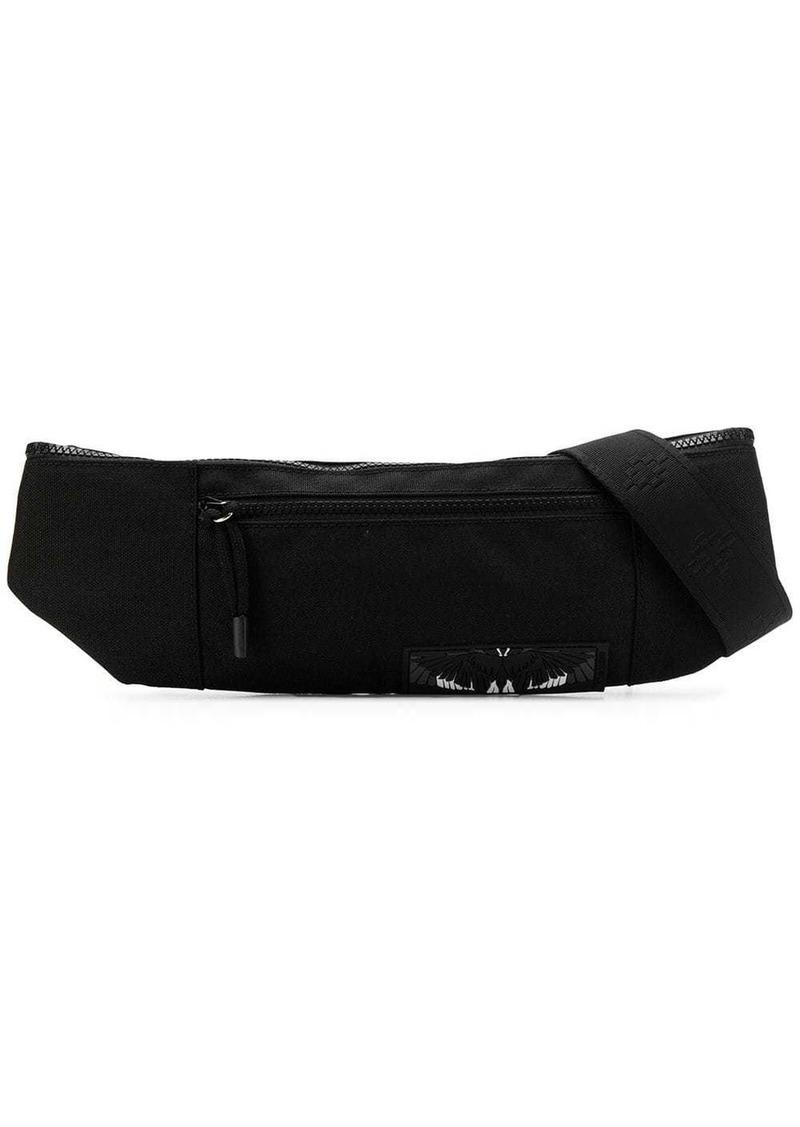 Marcelo Burlon Wings patch belt bag