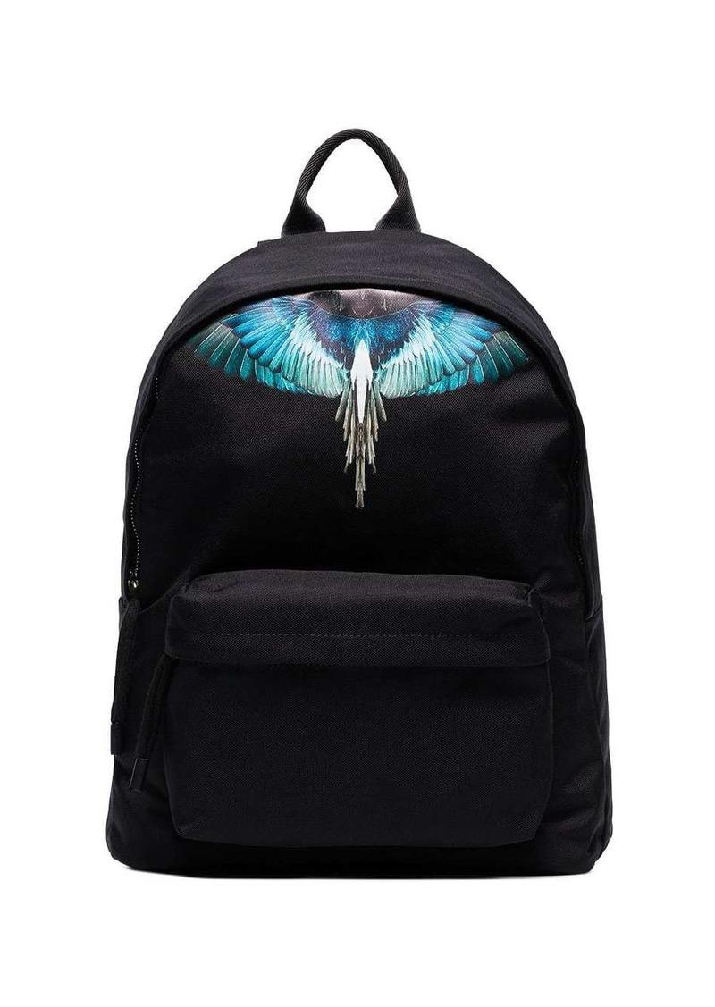 Marcelo Burlon Wings print backpack