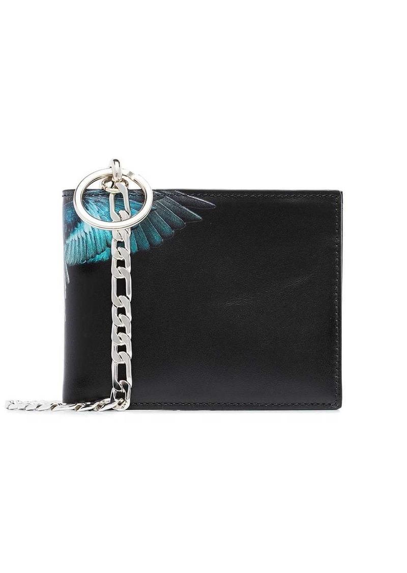 Marcelo Burlon Wings print bi-fold wallet