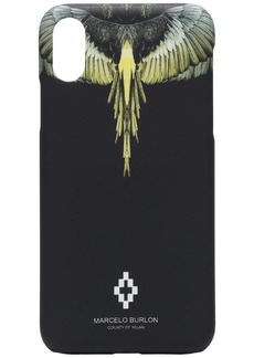 Marcelo Burlon wings print iPhone X case