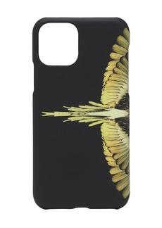 Marcelo Burlon Wings Print Tech Iphone 11 Pro Case