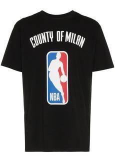 Marcelo Burlon X NBA print ribbed neck t-shirt