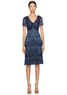 Marchesa 3/4 Tiered Fringe Cocktail