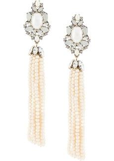 Marchesa bohemian dream tassel earrings